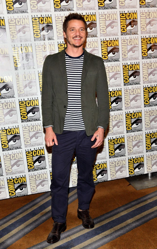 Actor Pedro Pscal at Comic-Con 2017
