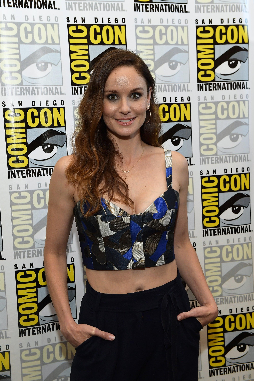 Actor Sarah Wayne Callies at Comic-Con