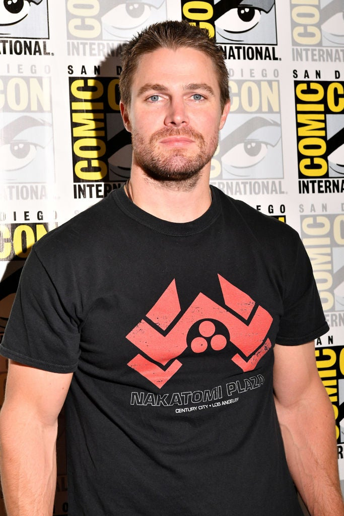 Actor Stephen Amell at Comic-Con 2017