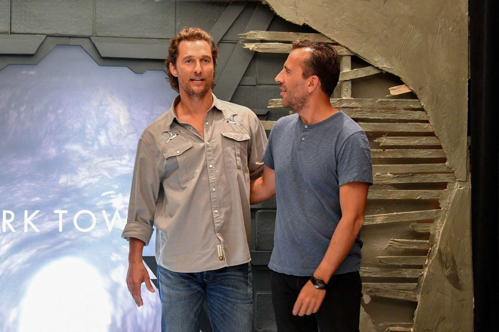 Actor and Golden Globe winner Matthew McConaughey and direcyor Nikolaj Arcel