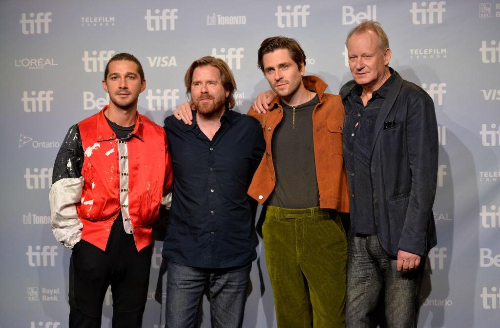 Director Janus Metx and cast of the film Borg McEnroe in Toronto 2017