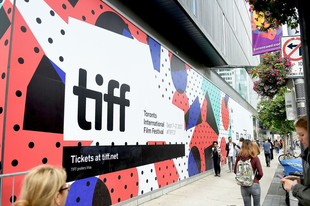 The atmosphere at the 2017 Toronto Film Festival