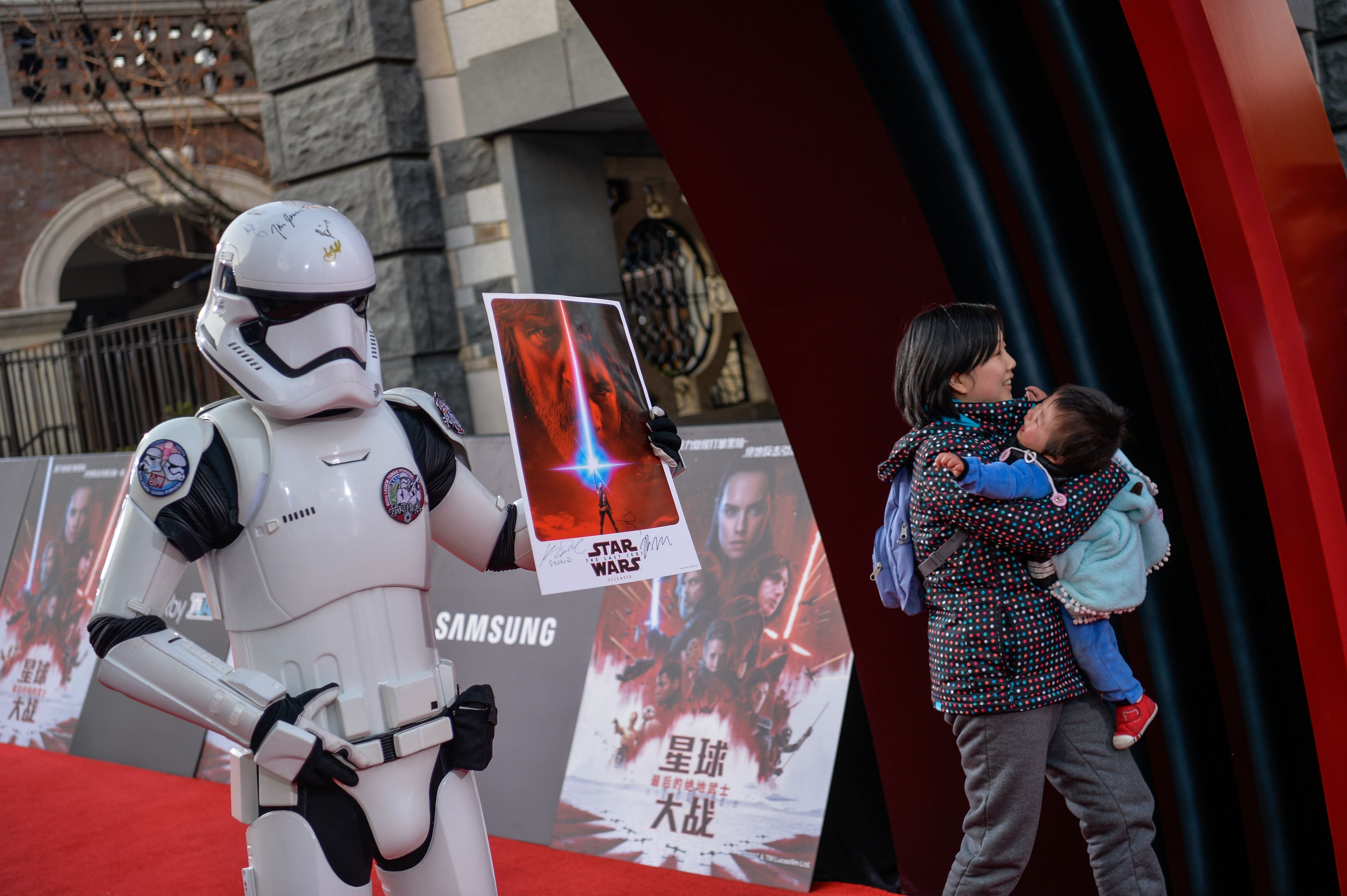 """""""Star Wars"""" movies in China"""