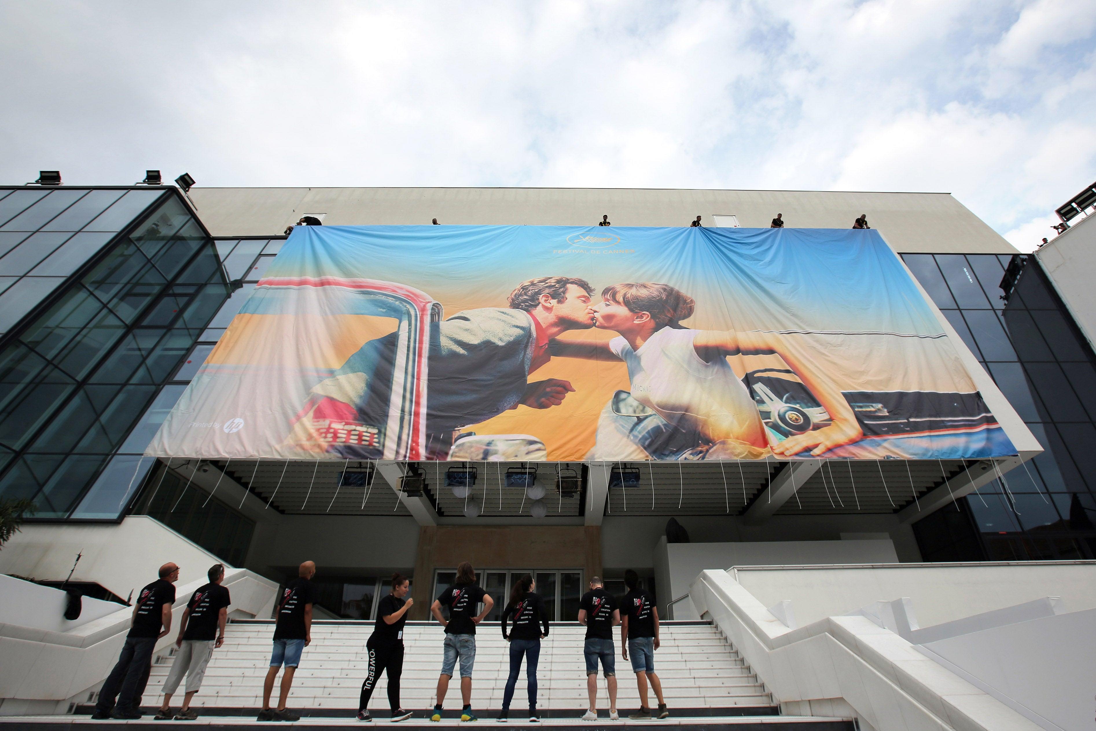 The Cannes palais, Cannes Film Festival 2018