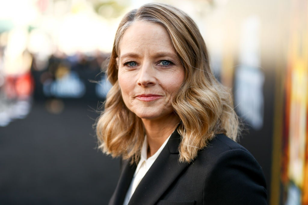 Actress, director Jodie Foster, Golden Globe winner