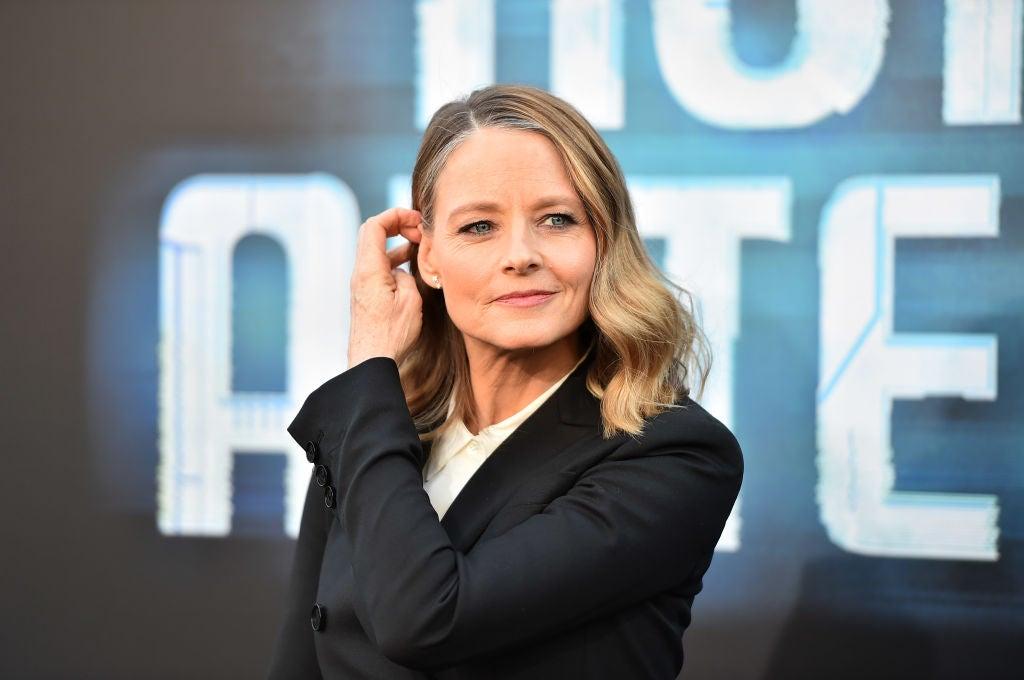 Acress and director Jodie Foster, Golden Globe winner