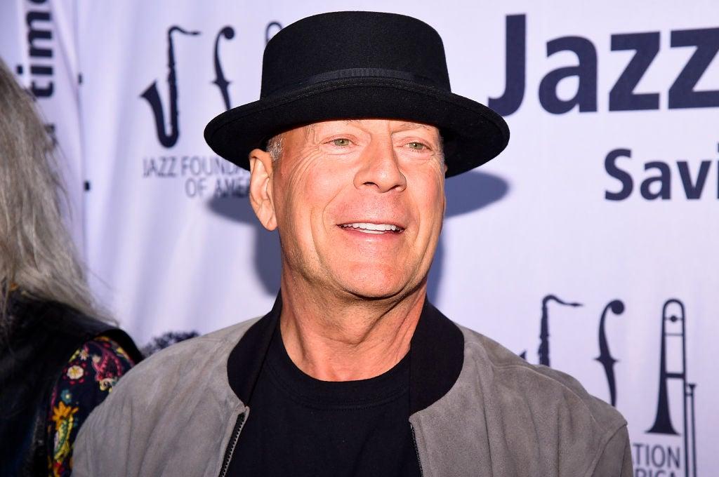 Actor Bruce Willis, Golden Globe winner