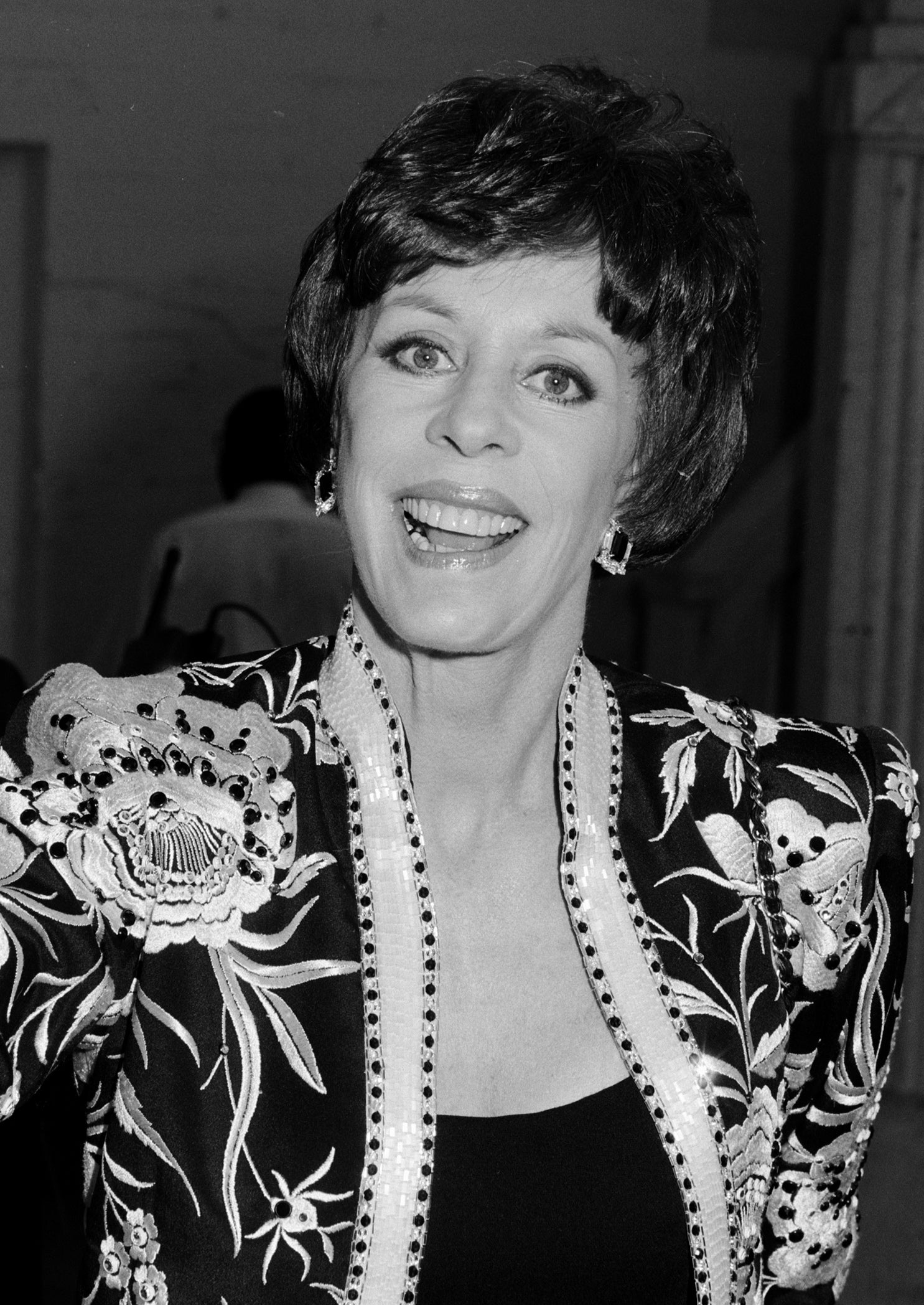 ACtress and comedian Carol Burnett, Golden Globe winner