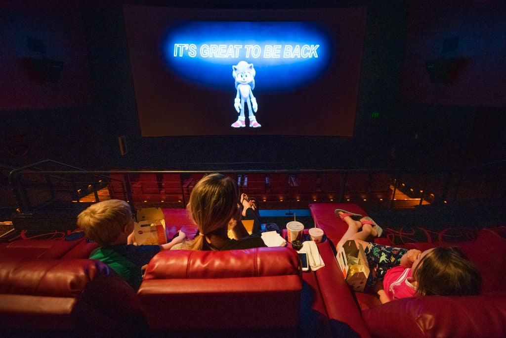 Cinemas reopen in the US, 2020