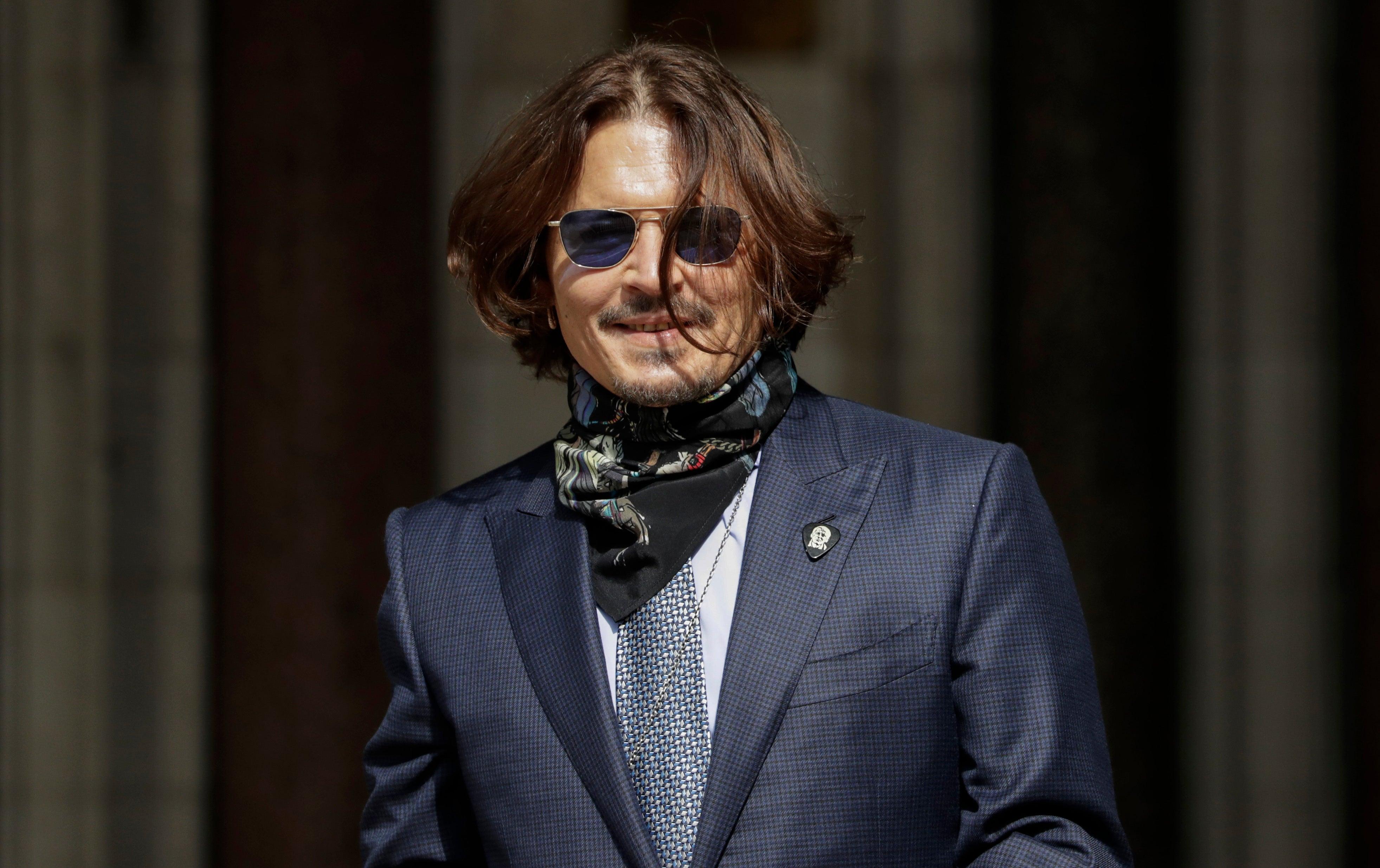 Johnny Depp, Golden Globe winner