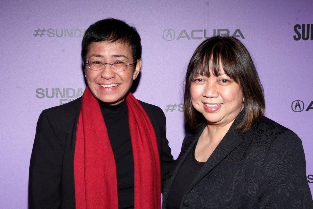 Journalist Maria Ressa and Filmmaker Ramona Diaz