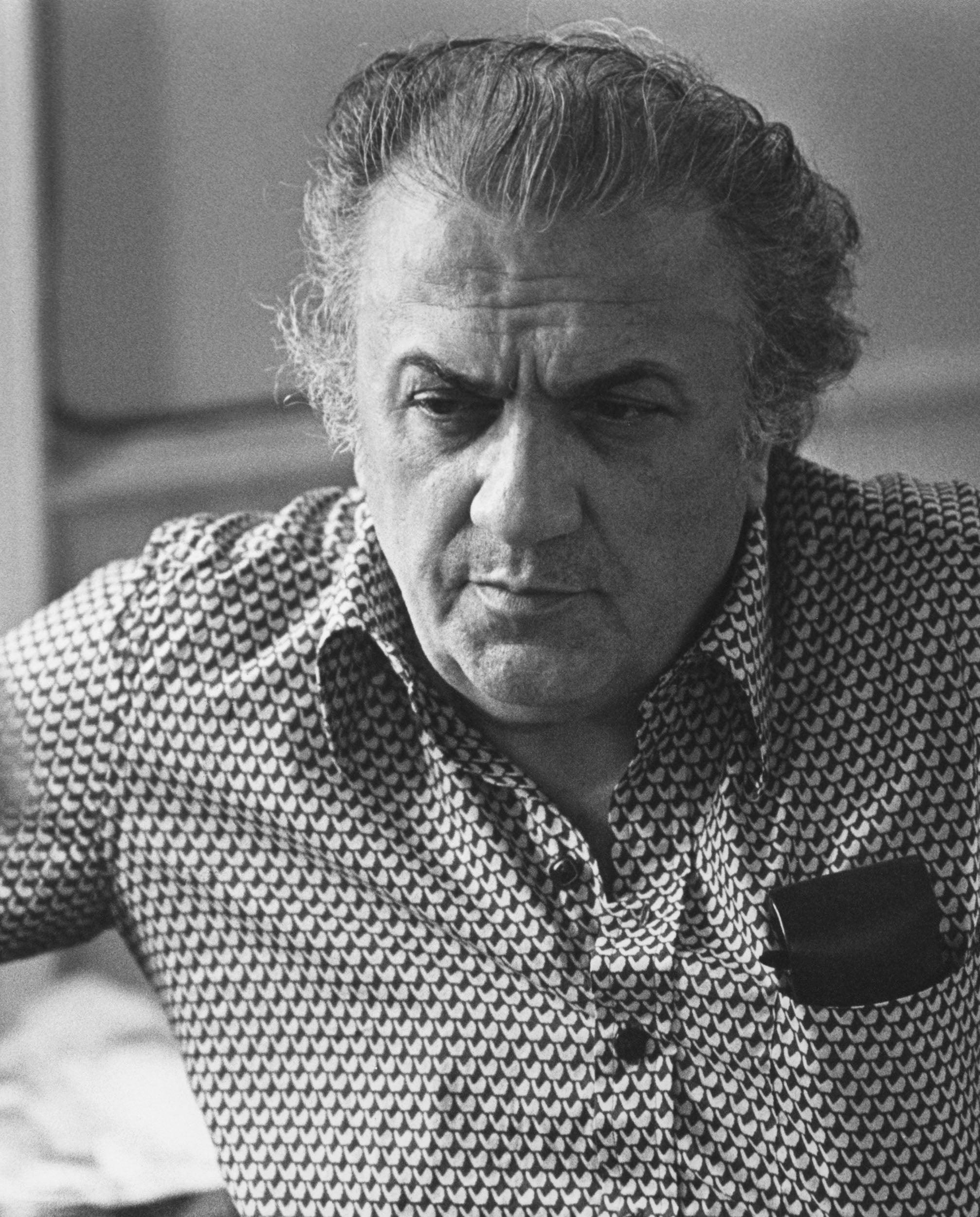 Filmmaker Federico Fellini, Golden Globe winner