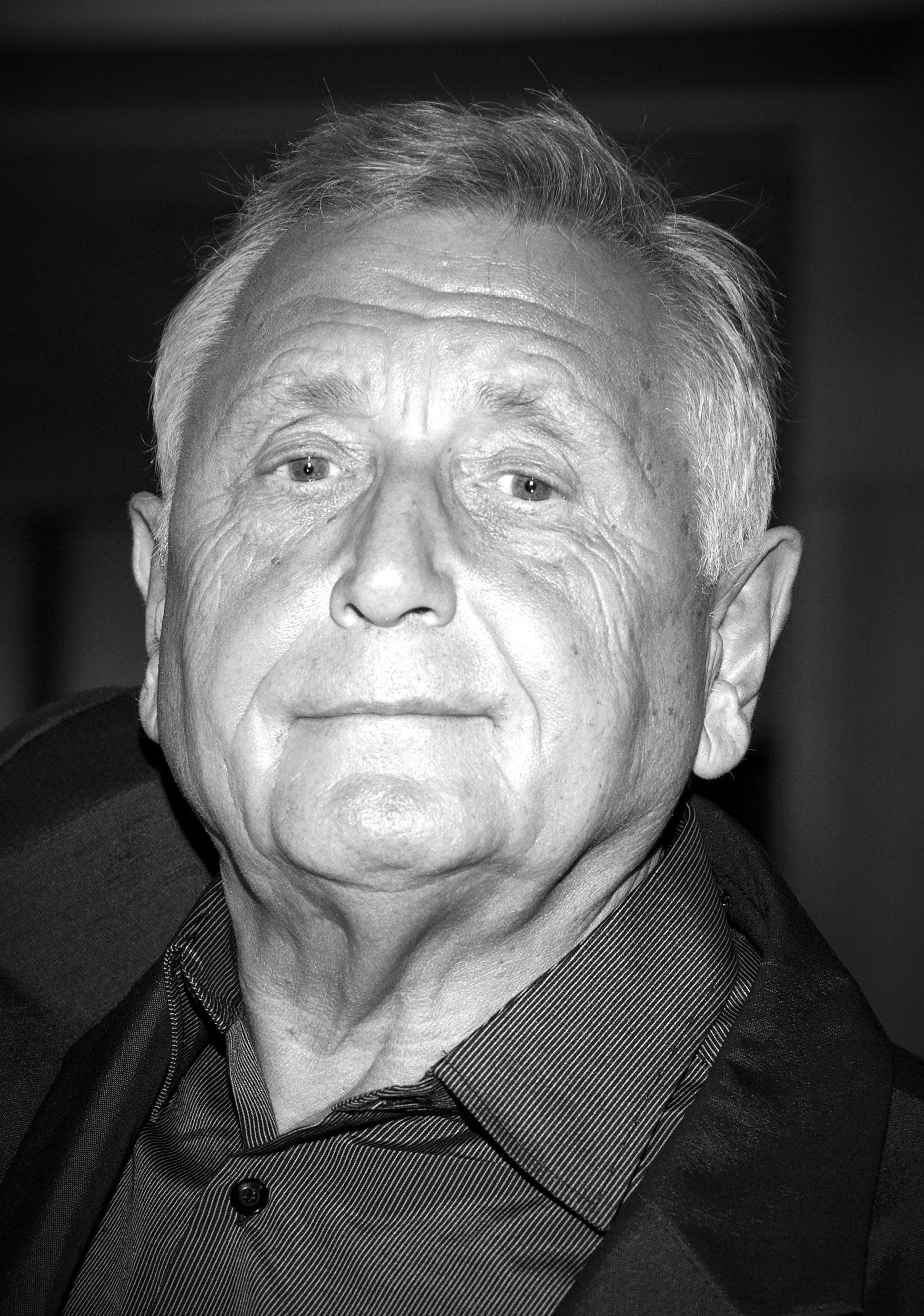 Czech filmmaker Jiri Menzel