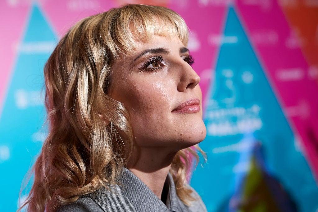Spanish actress Natalia de Molina