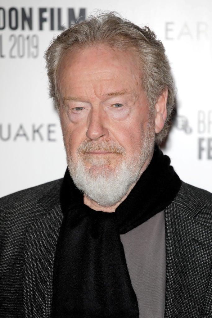 Filmmaker Ridley Scott, Golden Globe winner