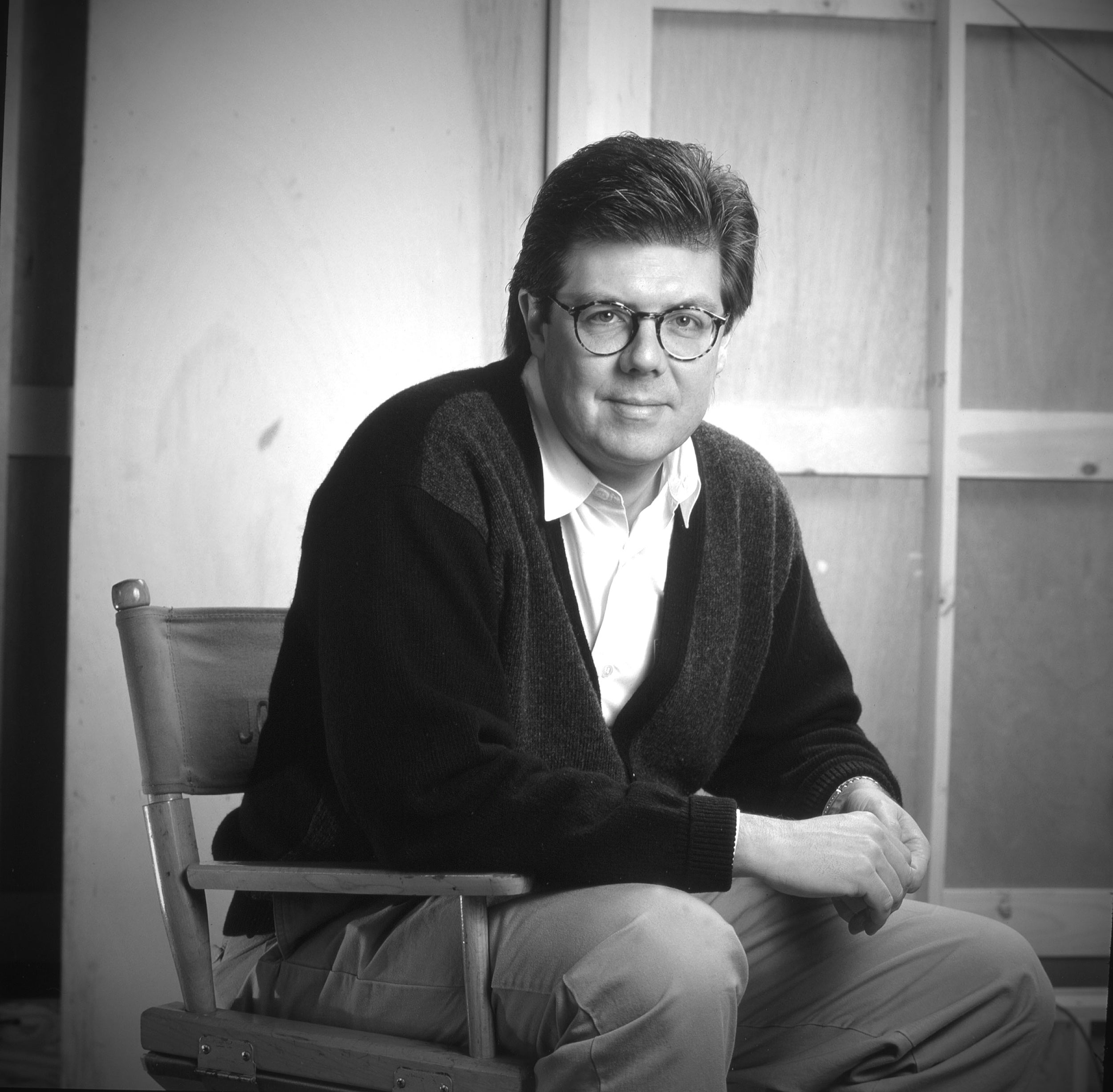 Filmmaker John Hughes in 1990