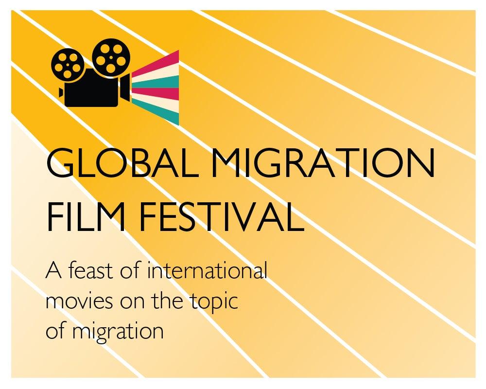 Logo ofthe 2002 Global Migration Film Festival
