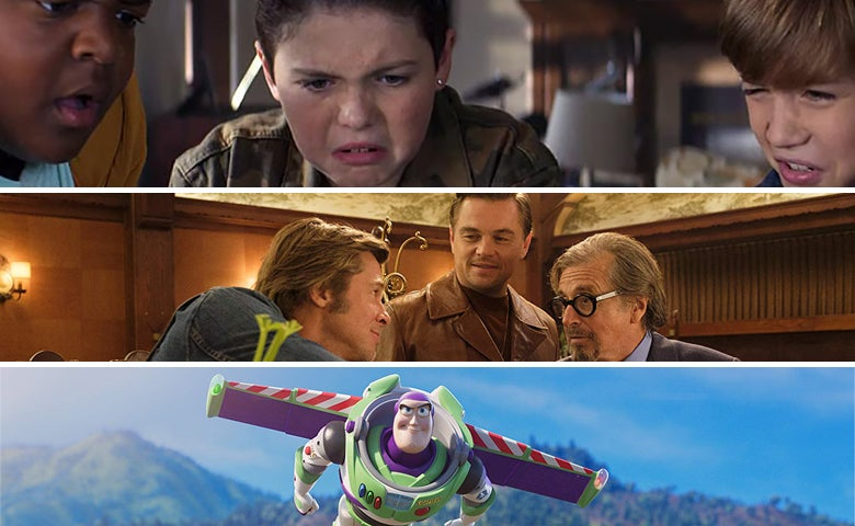"Scenes from ""Good Boys"", ""Once Upon a Time in ... Hollywood"", and ""Toy Story 4"""