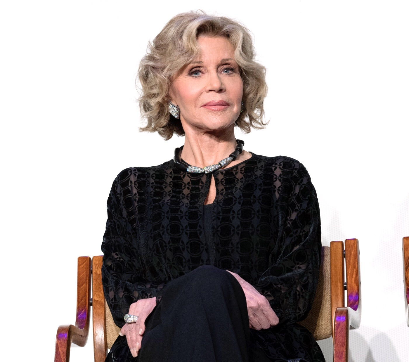 Jane Fonda at the Restoration Summit 2019