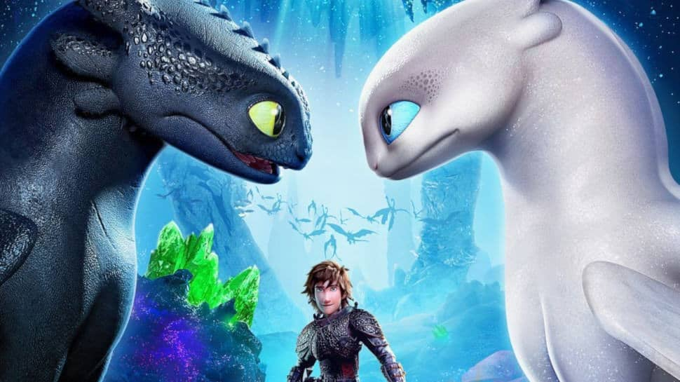 "A scene from ""How to Train Your Dragon:Hidden World"", 2019"