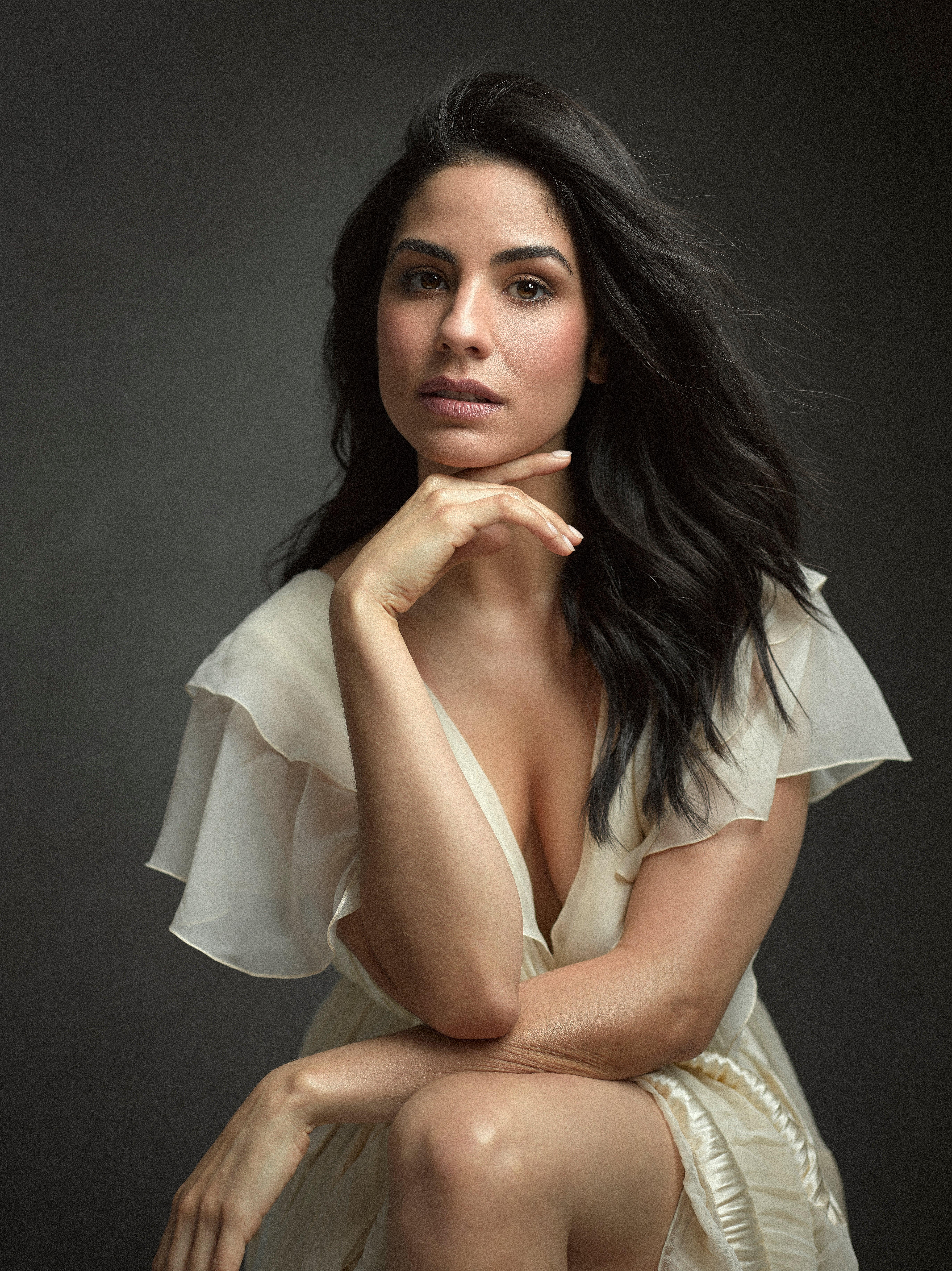 Actress Isabel Arraiza