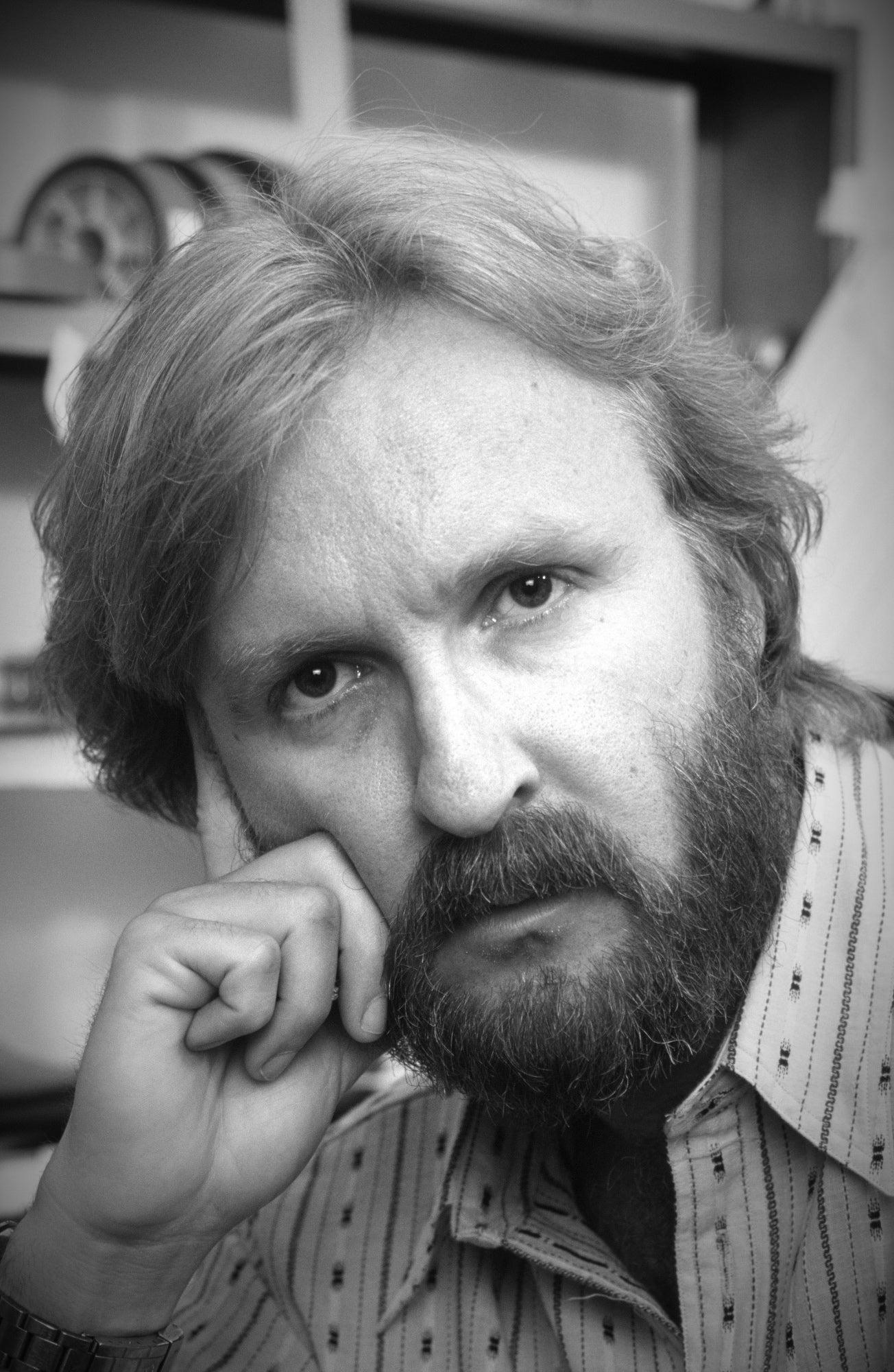 Filmmaker James Cameron, Golden Globe winner, in 1989