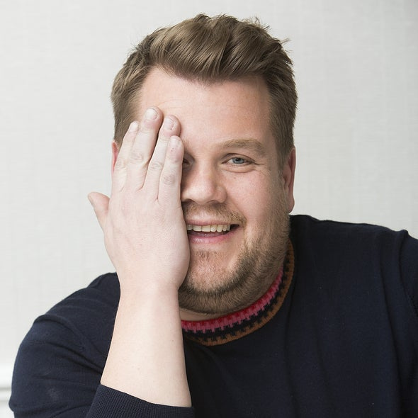Actor James Corden