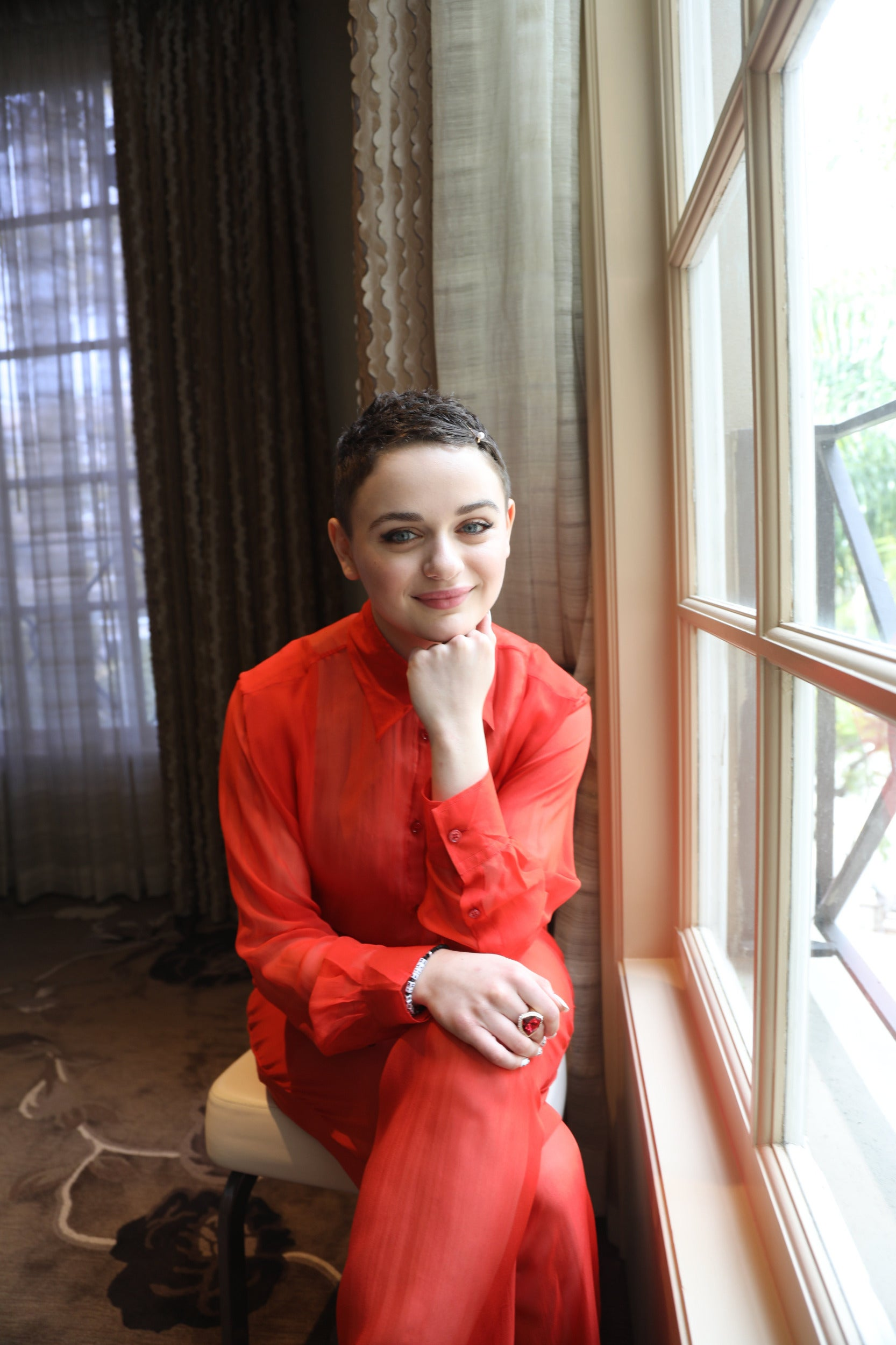 Actress Joey King, Golden Globe nominee