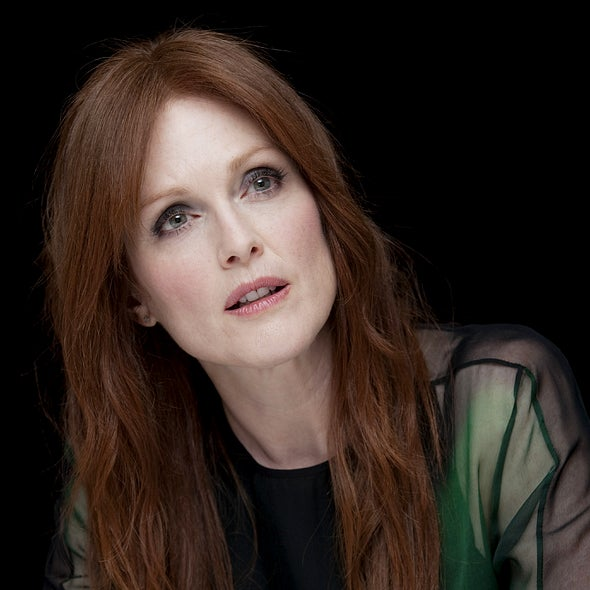 Actress Julianne Moore, Golden Globe winner