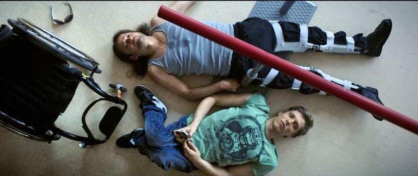 "A scene from ""Kills on Wheels"" , Hungary"