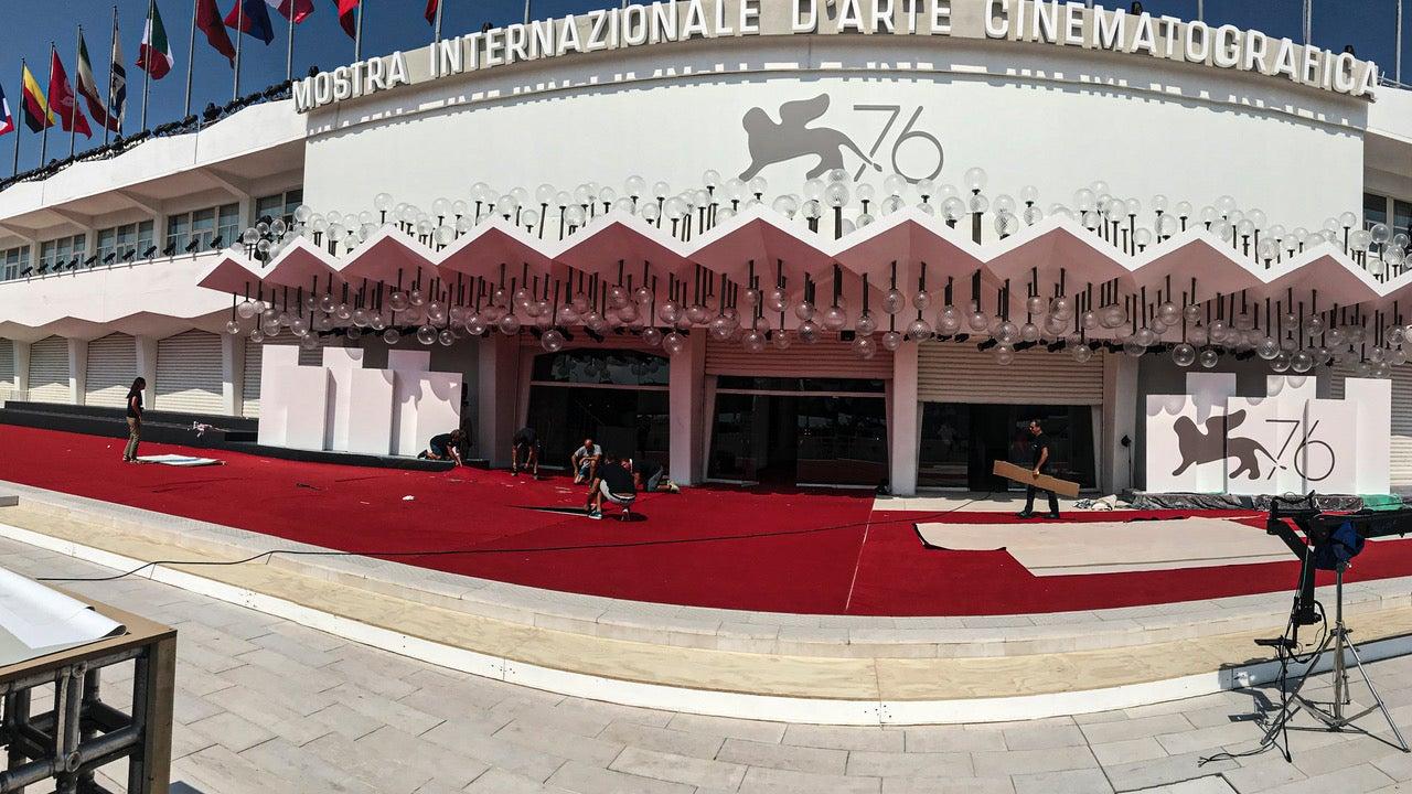 The Palazzo del Cine, Lido, 2019 Venice Film Festival