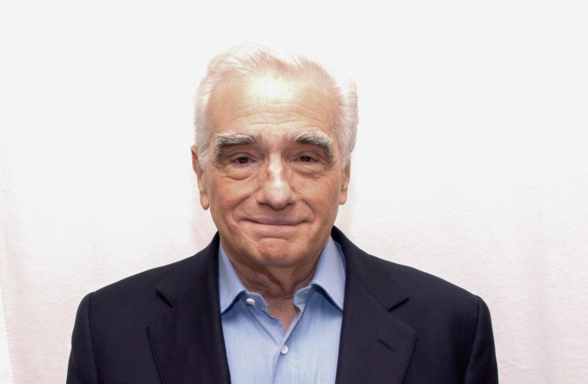 Director, producer Martin Scorsese, Golden Globe winner