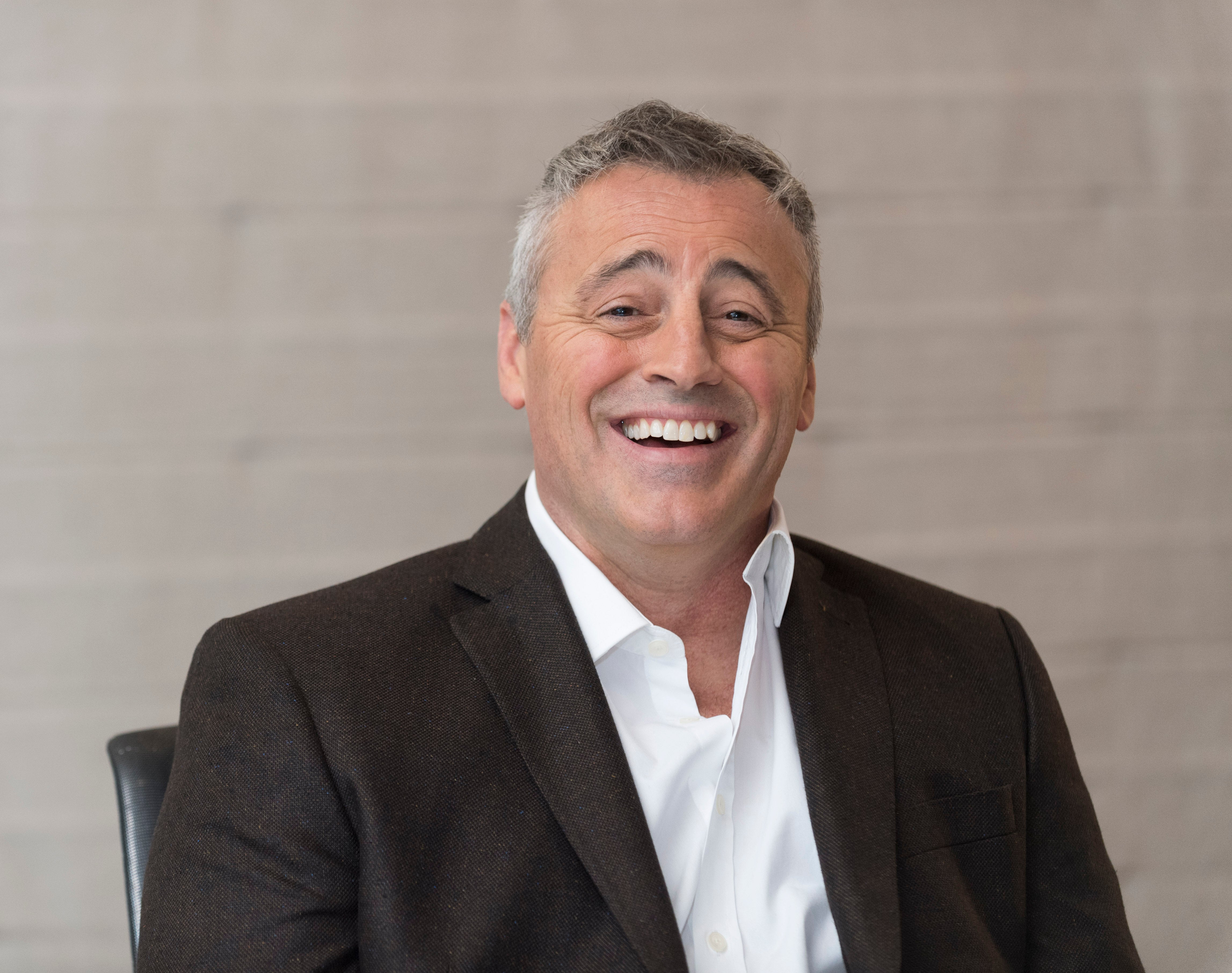 Actor Matt LeBlanc, Golden Globe winner