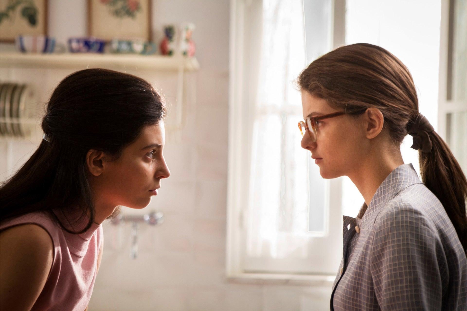 """A scene from """"My Brilliant Friend"""", season 2, 2020"""