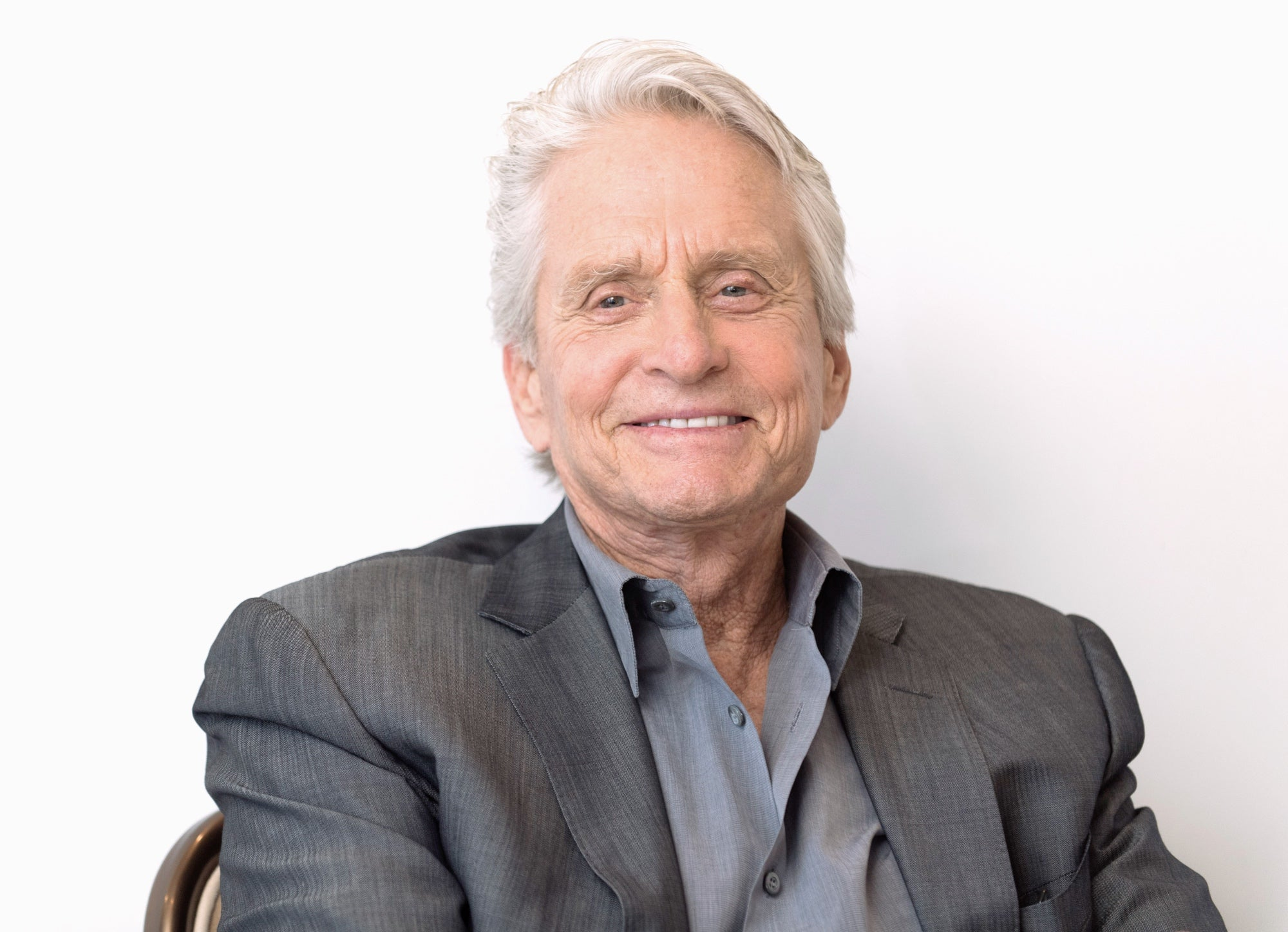 Actr and producer Michael Douglas, Golden Globe winner and Cecil B. deMille recipient