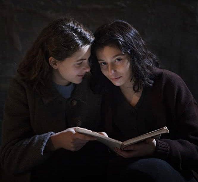 "Margherita Mazzucco and Gaia Girace in ""My Brilliant Friend"""