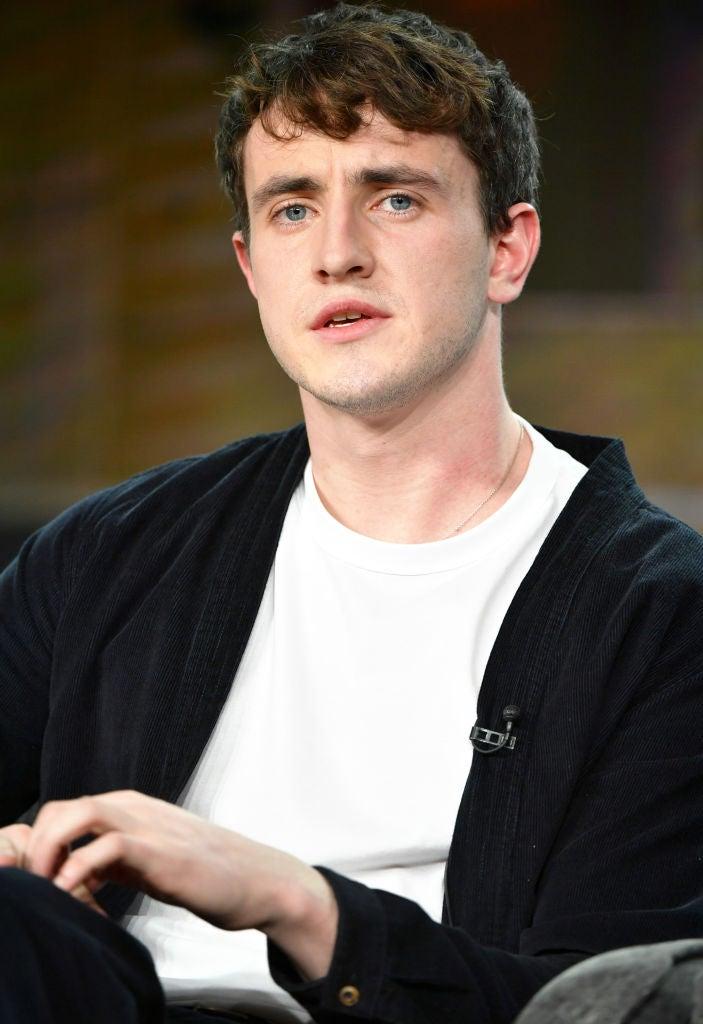 Actor Paul Mescal