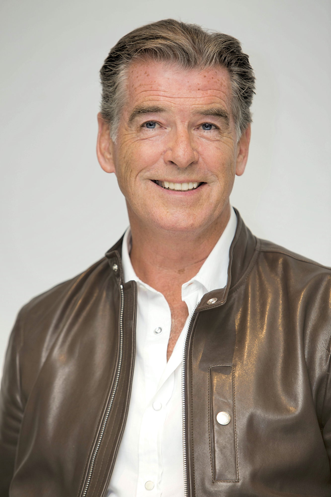 Actor and producer Pierce Brosnan
