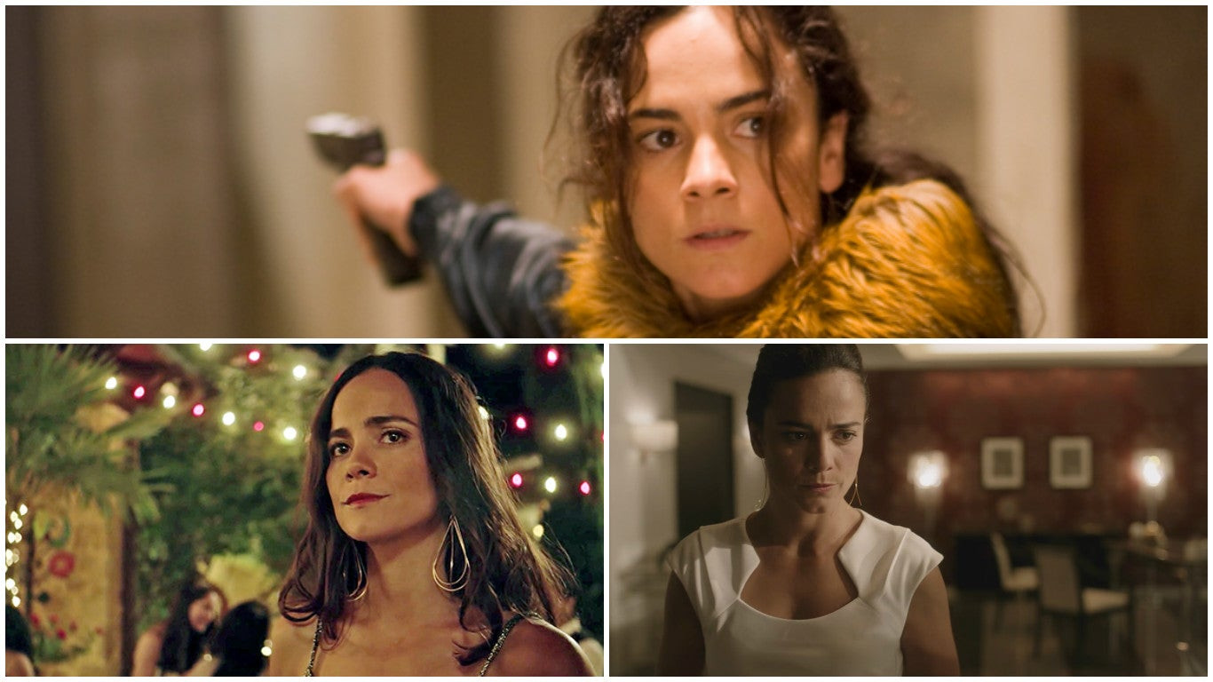 Scenes fro, the USA series Queen of The South, with Alice Braga
