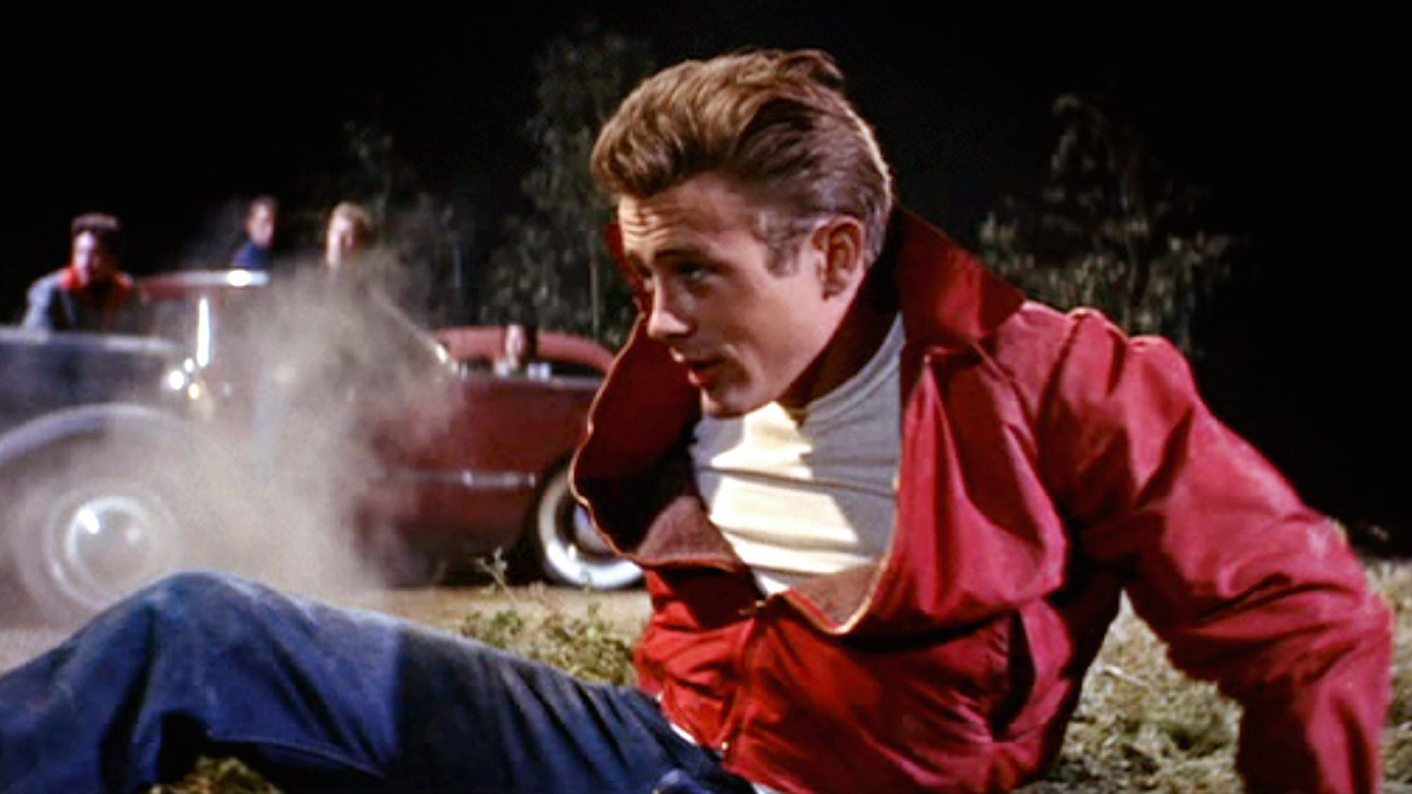 "A scene from ""Rebel Without a Cause"", 1955"