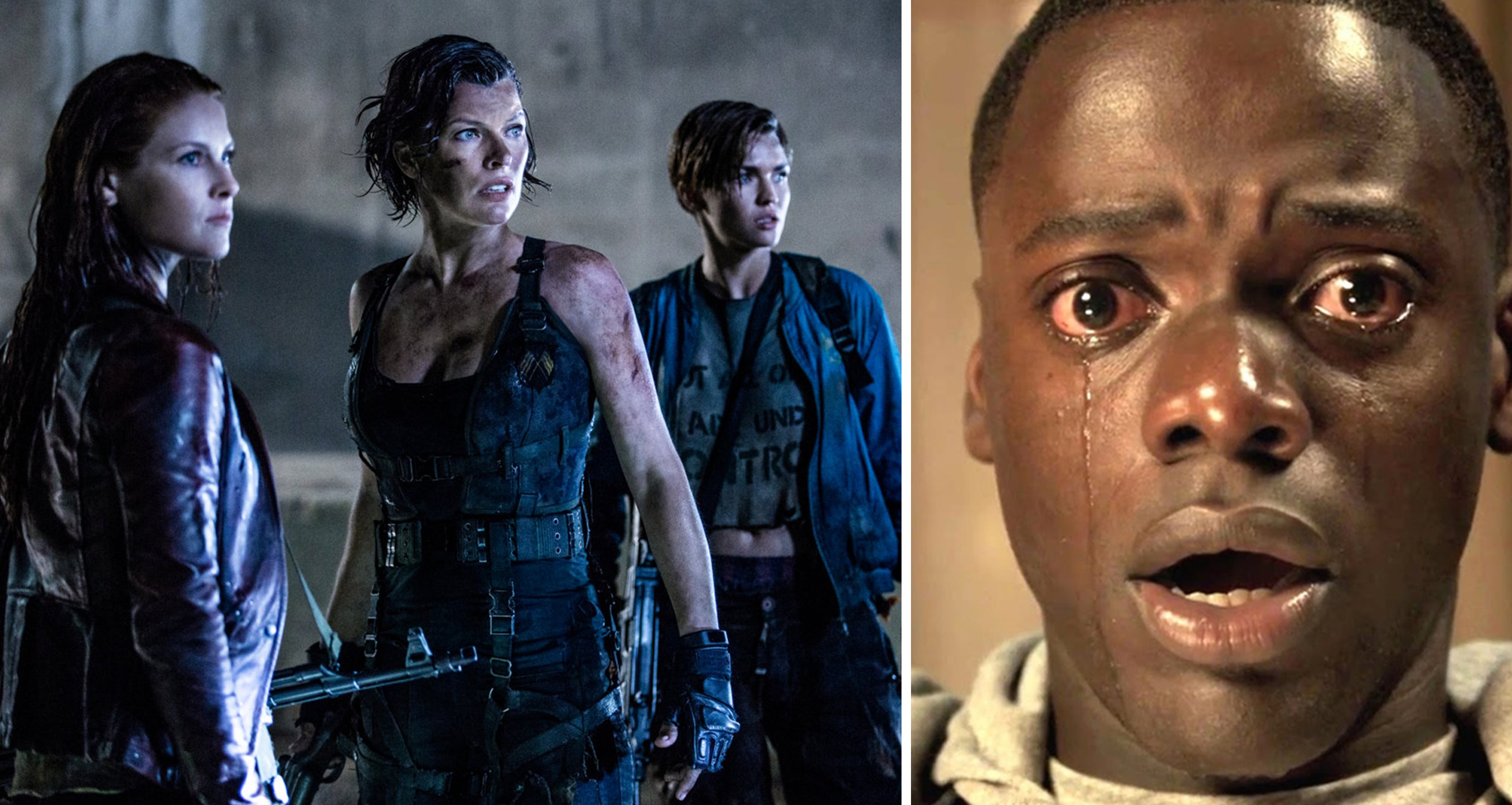 Scenes from Resident Evil The Final Chapter and Get Out  sc 1 st  Golden Globes & World Box Office February 20-26 2017 | Golden Globes