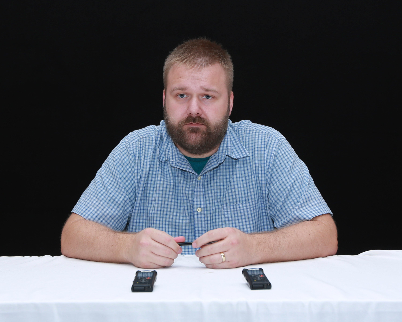 Robert Kirkman at HFPA press conference, Comic-Con 2016