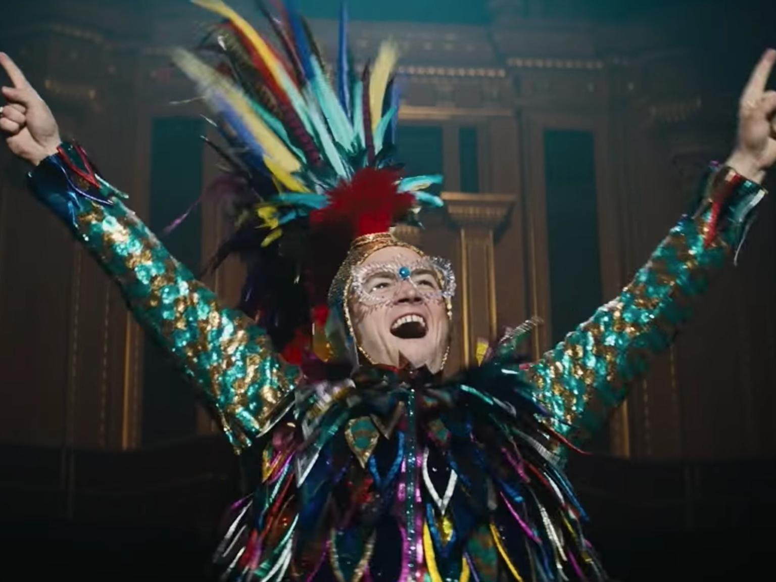 """Tarion Egerton in a scene from """"Rocketman"""", 2019"""