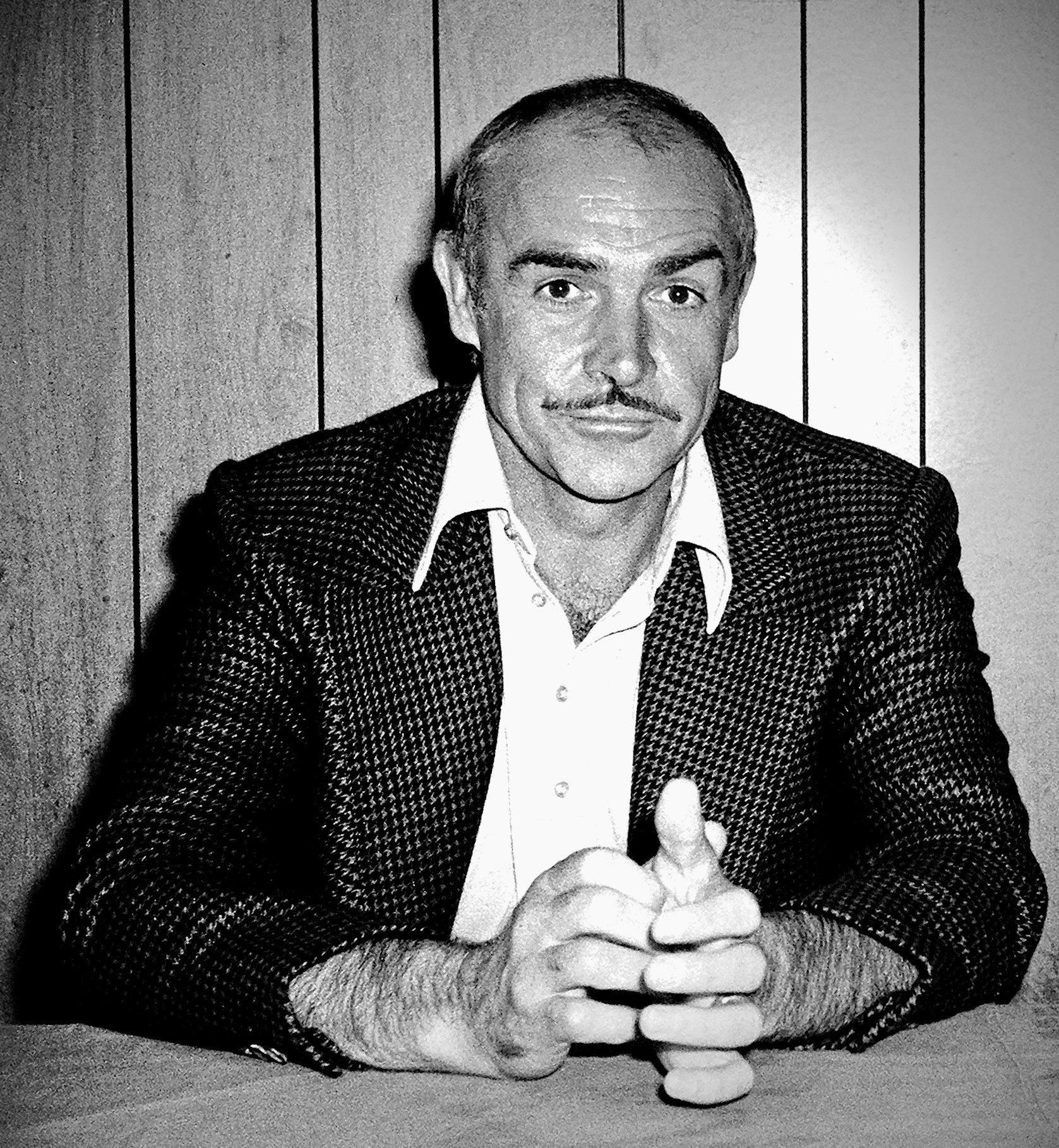 Sean Connery, Golden Globe winner and Cecil B.deMille recipient, in 1976