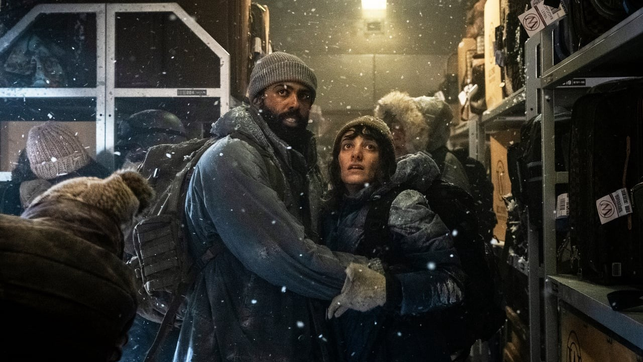"A scene from the series ""Snowpiercer"" 2020"