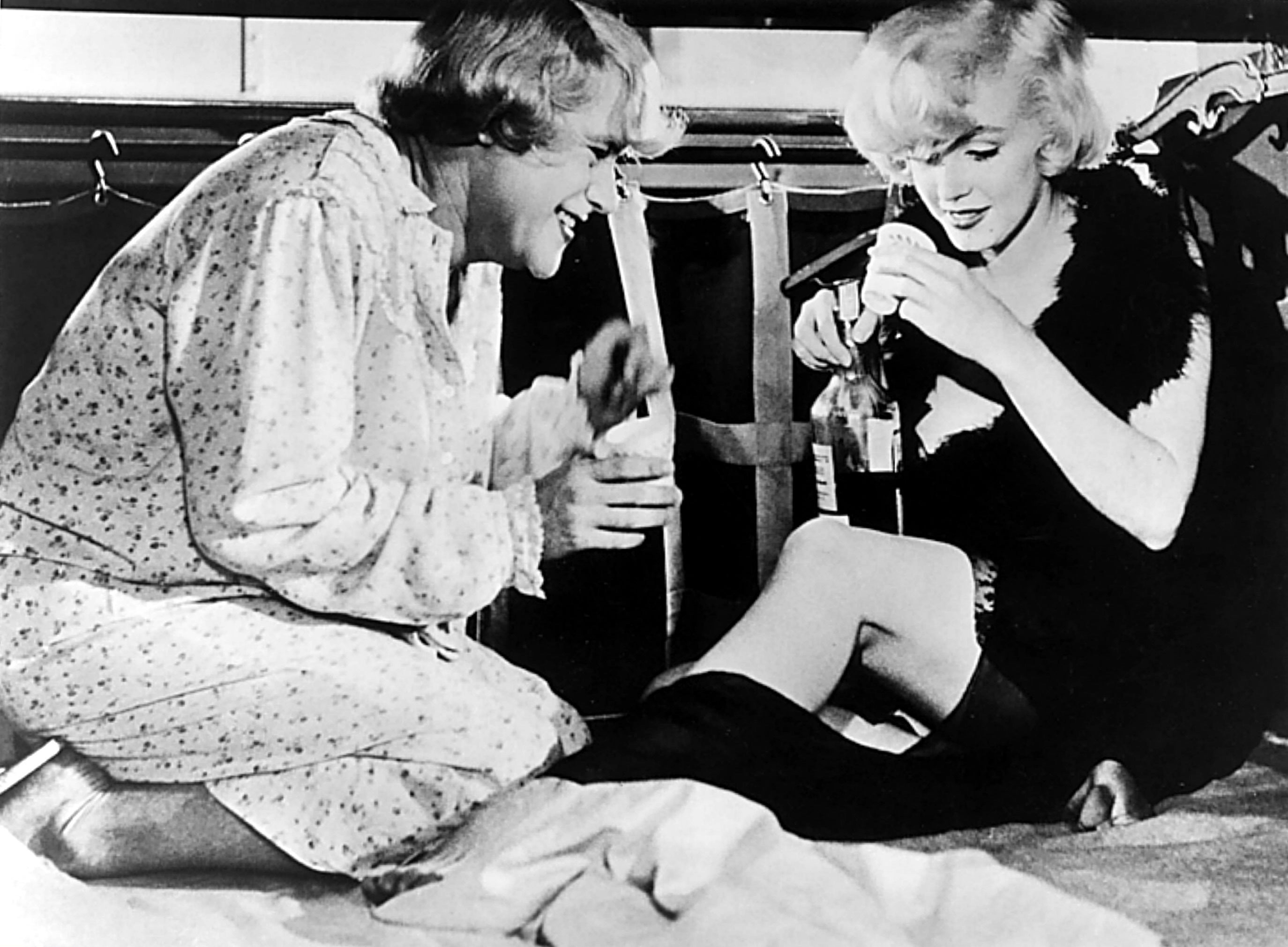 """A scene from """"Some Like it Hot"""", 1959"""