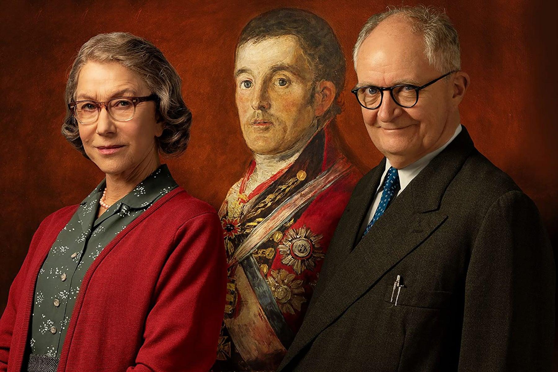 "Helen Mirren and Jim Broadbent in ""The Duke"" (2020)"