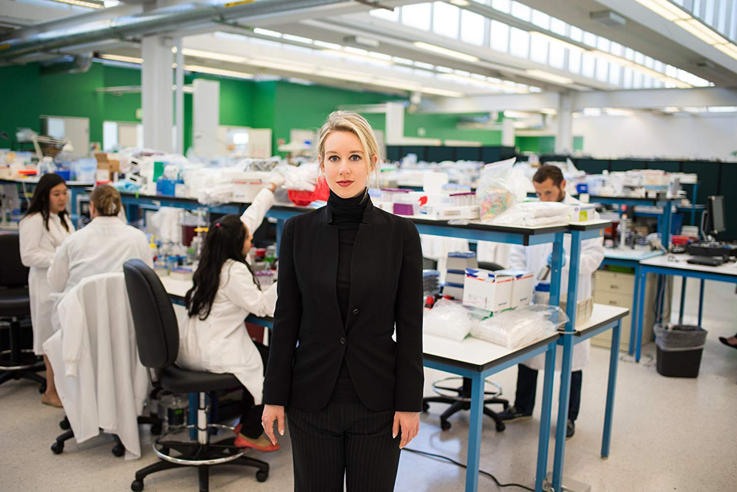 """Elizabeth Holmes in """"The Inventor: Out for Blood in Silicon Valley"""" (2019)"""