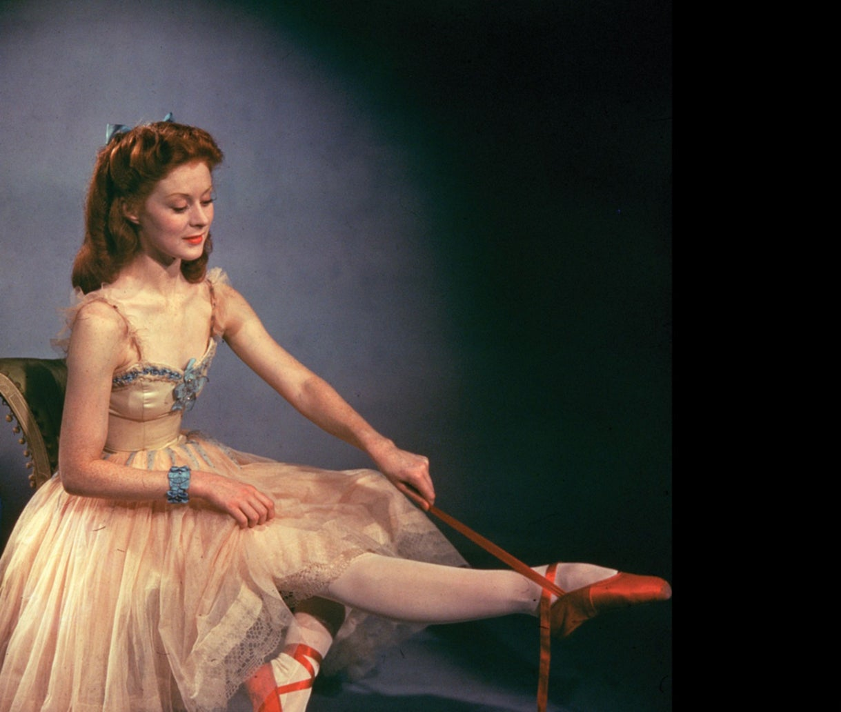 """Moira Shearer in """"The Red Shoes"""" (1948)"""