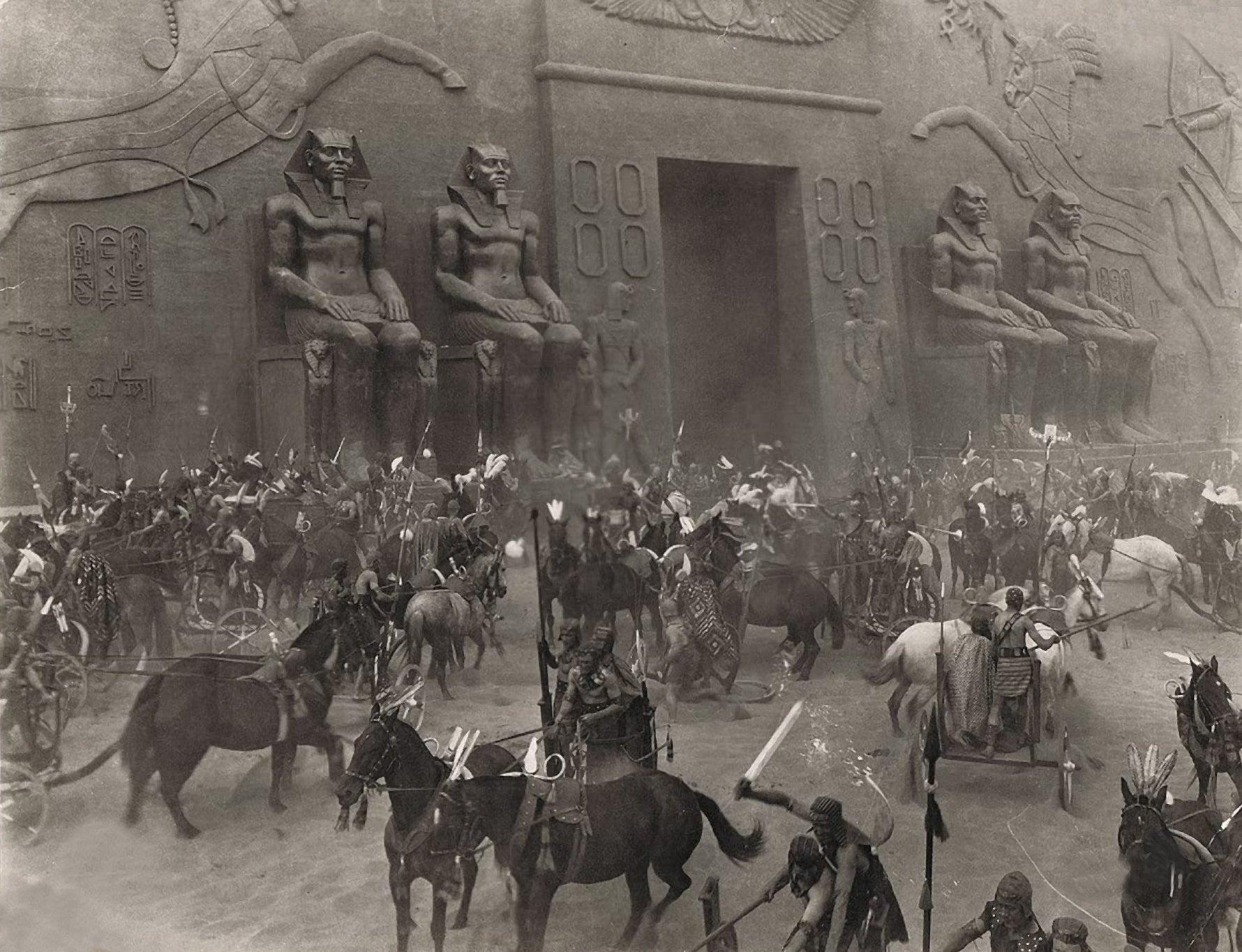 "Scene from ""The Ten Commandments"" (1923)"